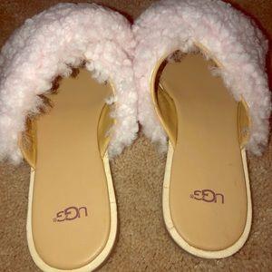UGG Joni Fur Sandals NEVER WORN